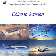 Грузовых авиаперевозок экспедитора верхней судоходной компании из Китая в Швецию