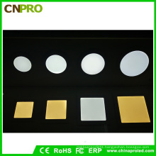 Factpry Supply Square LED Panel Lights 12W Super Thin Recessed Downlight