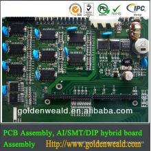 pcba & pcb montage oemodm pcb und pcb montage Elektronische Platte mit LCD-Display