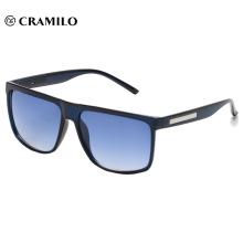Fashion hot sale oversize blue sunglasses
