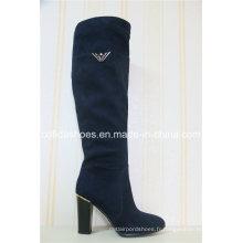 Comfort Fashion High Heels Femmes Winter Warm Boots