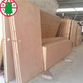 Composite wooden door with plywood door skin