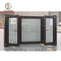 Modern Style Low-E Glass Swing bay Window for sale