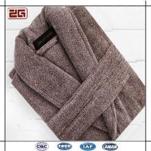 100% Cotton Velour Super Soft Customized Colorful Bathrobes for Men