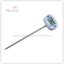 Outdoor Kochen Edelstahl Lebensmittel Thermometer (44mm * 30mm * 2mm)