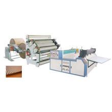 Máquina de caixa de papelão de rosto único para embalagem (QDWJ-1320)