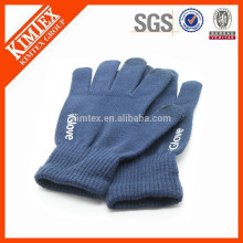 Printing winter knit thinsulate touch glove