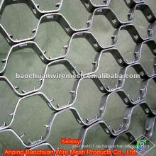 Alambre de acero inoxidable 316L termoestables Tortoise Shell Mesh (Fábrica)