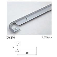 Aluminiumrahmenprofil eloxiert für Küche