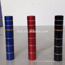 8ml spray de pimienta de lápiz labial en color negro para mujer
