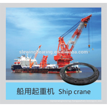 slewing ring with phosphating treatment for ship crane