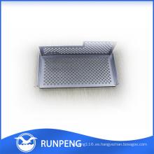 Piezas de perforación de encargo del CNC de la chapa de encargo de la alta precisión