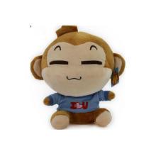 Плюшевые мультфильм Симпатичные Обезьяна Фаршированные игрушки (TPWU19)