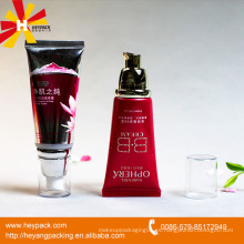 Muy hermosos tubos vacíos exprimidos para envases cosméticos