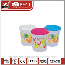 6894 food canister, plastic products, plastic housewares