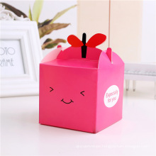 Colorful Christmas Eve Customized Paper Gift Packaging Box