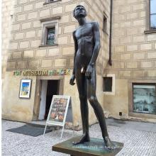 berühmte Künstler Bronze Bronze Skulptur Metall Handwerk Leben Größe Nacktstatuen