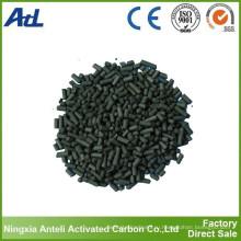 Кислоты промывают активированный уголь на основе каменного угля