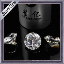 Corações e setas elegantes do corte da estrela CZ Gemstone