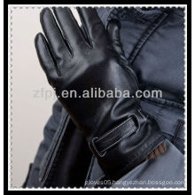 boys leather thick glove for car driving