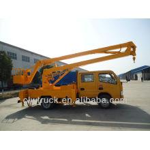 Dongfeng FRK 12m crew cab Peru aerial platform truck