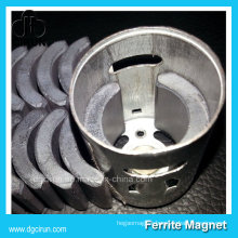 Custom Size Ceramic Ferrite Motor Magnets