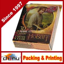 O Hobbit uma Viagem Inesperada (100% Plástico) 3D Baralhos (430.190)