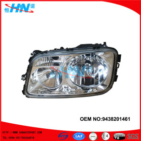 Manual Head Lamp 9438201461 Truck Parts For Mercedes Actros Truck