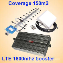 Full Bar Mobile Signal Repeater Dual Telecom Lte 4G 1800MHz Cellphone Signal and Network Booster