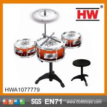 Beliebte Kinder spielen Schlagzeug-Set professionelle Spielzeug Trommel-Set für Kinder