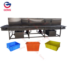 New Baking Tray Cleaning Machine Plastic Tray Washer
