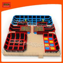 Junior Big Square Indoor Trampolines Park Equipment for Child