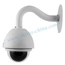 H. 264 480tvl CCD High Speed Dome PTZ IP Camera (IP-650H)
