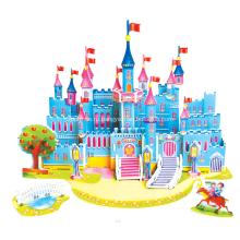 3D синий Замок головоломки