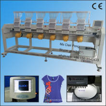 high quality cap t shirt embroidery machine for cap t shirt and flat embroidery