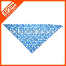 Fashion customized triangle screen printed bandana