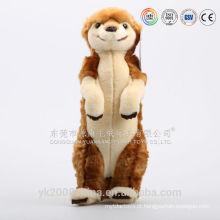 Adorável presentes dos namorados brinquedos do bebê esquilo de pelúcia e esquilo de pelúcia