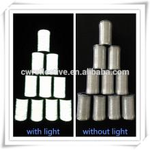 двухсторонняя серебро серый hivisbility светоотражающие пряжи для одежды