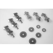 Peça de estampagem automotiva de metal de precisão personalizada