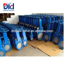 2 Dimension V Borboleta Com Rosca Isolamento Fornecedor M & h Bloqueio Ggg40 Lama Faca Válvula de Porta Stem 2cr13