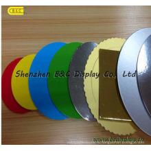 Разных цветов круглые Shaple 3мм обоюдоострая завернутый доски торта (B и C-K044)