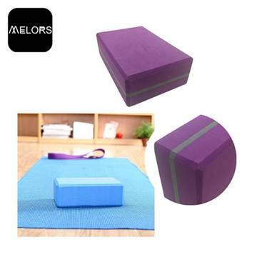 Melors Outdoor EVA Soft Foam Building Bloque de yoga