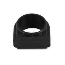 Junta de sellado de caucho de silicona negra elástica personalizada