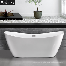 Aoclear 2021 66 59 inch freestanding tub in wet bath room