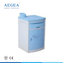 AG-BC005E ABS material easy cleaning hospital ward room cabinet beside bed