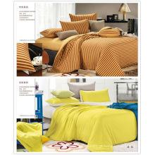 Hot vendendo cama de algodão set / cama folha