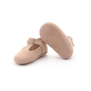Pink Borong Cute Baby T Bar Shoes