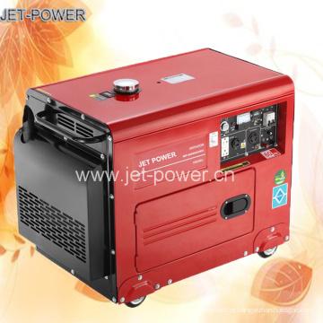 Gerador diesel silencioso de refrigeração ar preço do gerador de 7,5 kVA