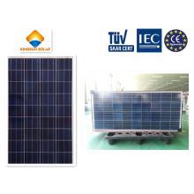 Paneles solares policristalinos de alta eficiencia de energía solar de 150W