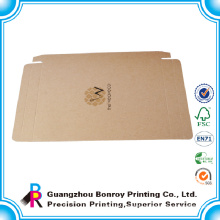 Eco friendly brown soap carton box packaging wholesale